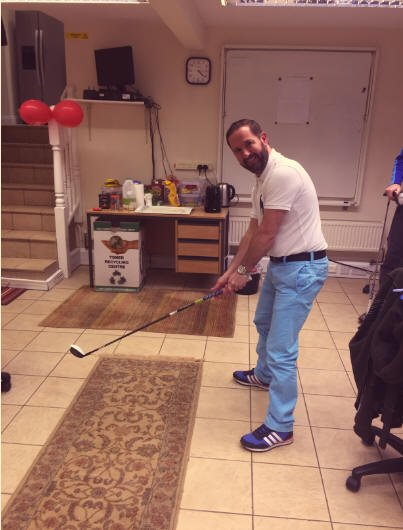 golf fancy dress charity sports relief