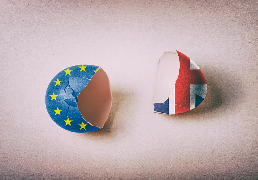 brexit cracked eggs uk European union europe