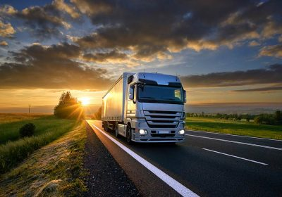 truck road rail sunset travel transport container shipping